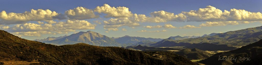 Roaring Fork Valley scenic view