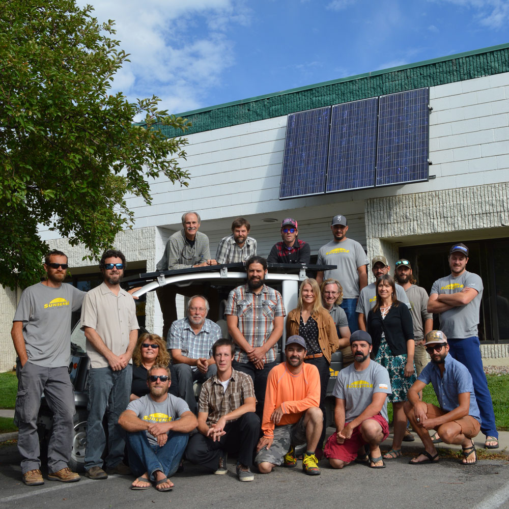 Sunsense Solar staff 2017